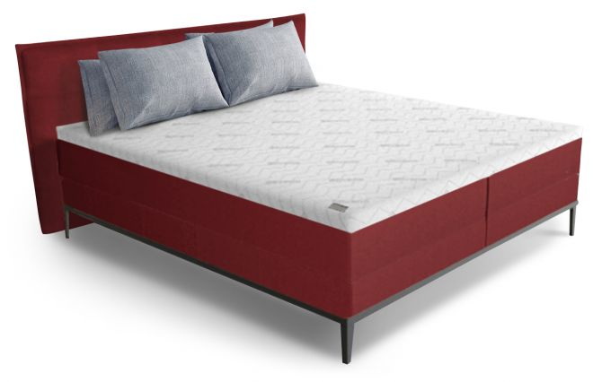 Boxspring The Frame 180x210 - Rood Stof